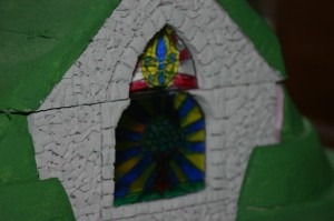 The Green Chapel, complete with window.
